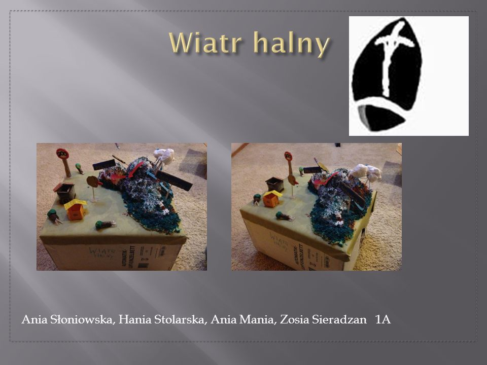 Wiatr halny Ania Słoniowska, Hania Stolarska, Ania Mania, Zosia Sieradzan 1A