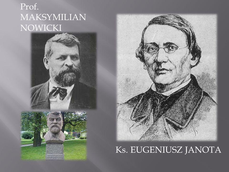 Prof. MAKSYMILIAN NOWICKI