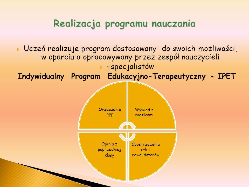 Realizacja programu nauczania