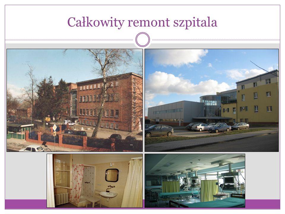 Całkowity remont szpitala