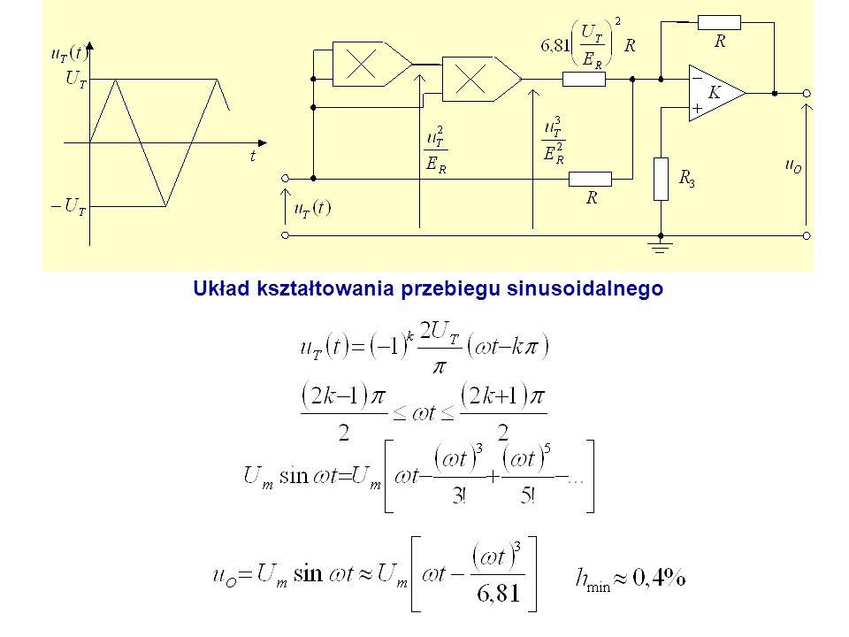 Układ kształtowania przebiegu sinusoidalnego