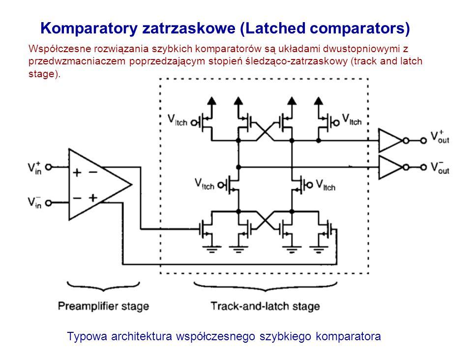 Komparatory zatrzaskowe (Latched comparators)