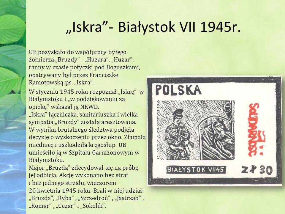 """""""Iskra - Białystok VII 1945r."""