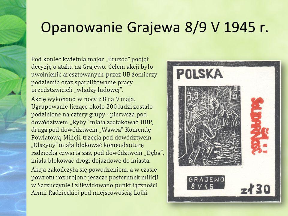 Opanowanie Grajewa 8/9 V 1945 r.
