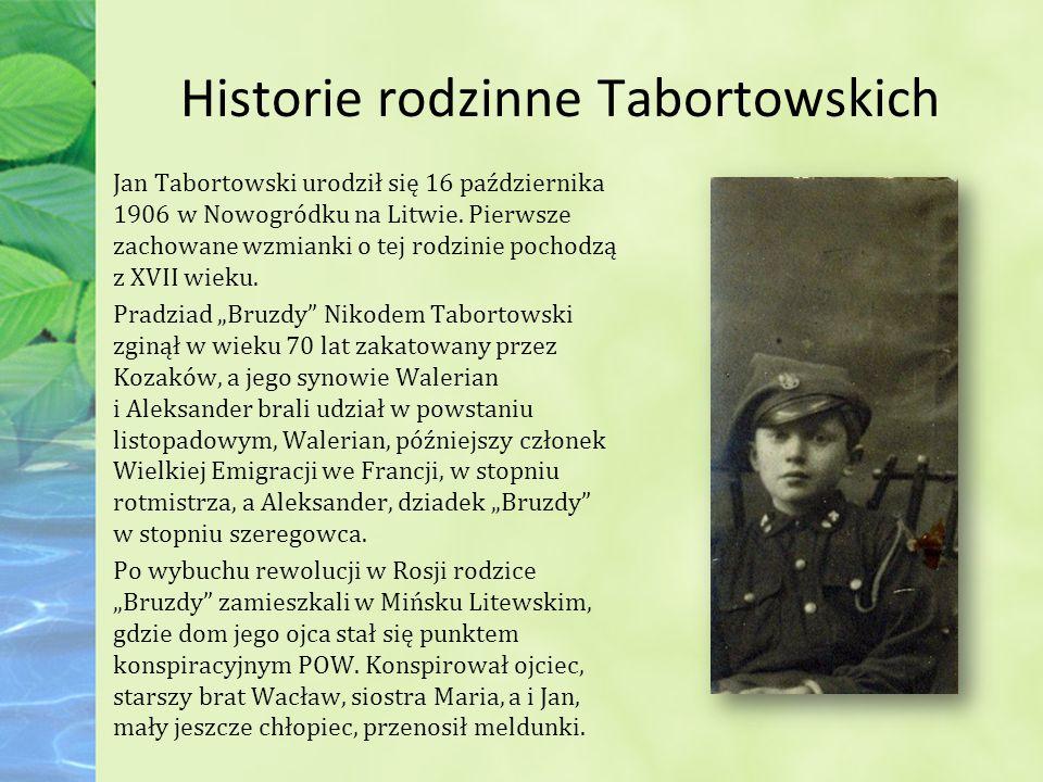 Historie rodzinne Tabortowskich