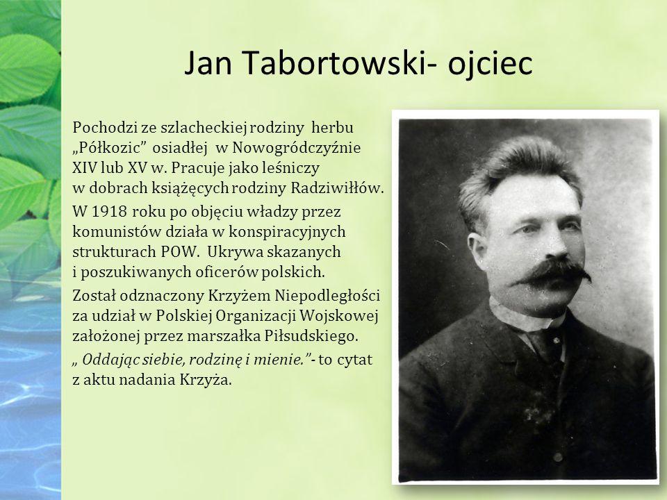 Jan Tabortowski- ojciec