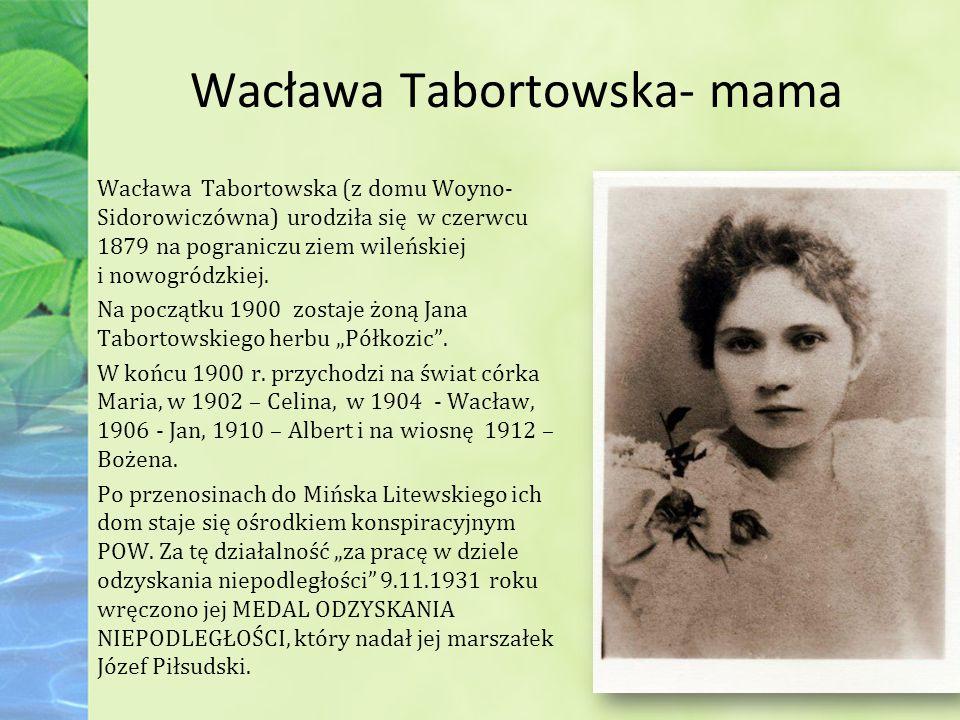Wacława Tabortowska- mama