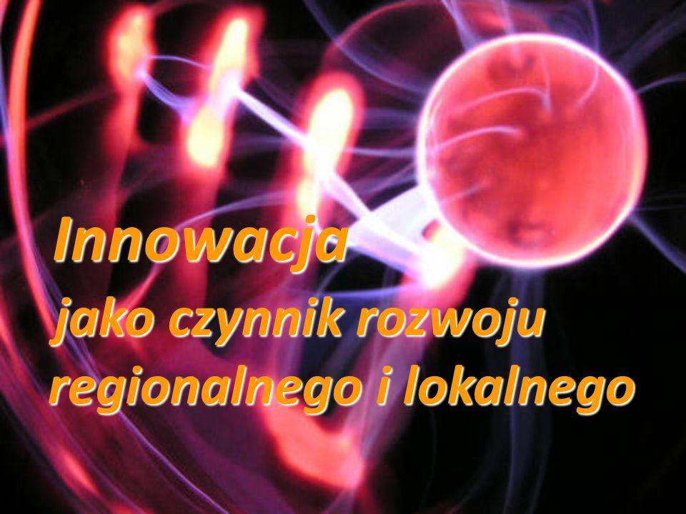 jako czynnik rozwoju regionalnego i lokalnego