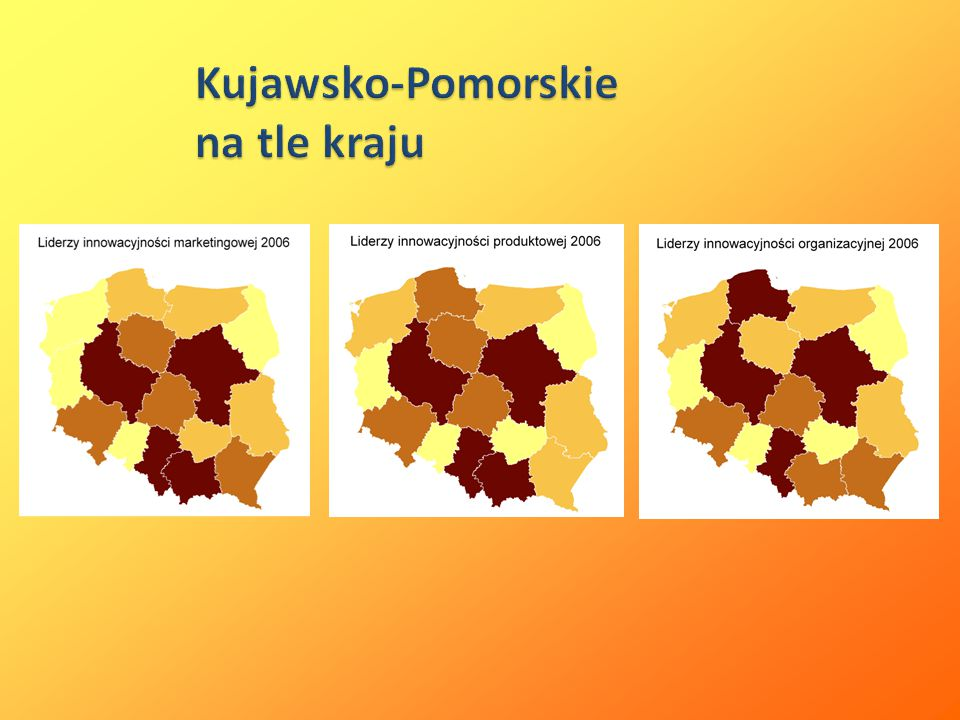 Kujawsko-Pomorskie na tle kraju