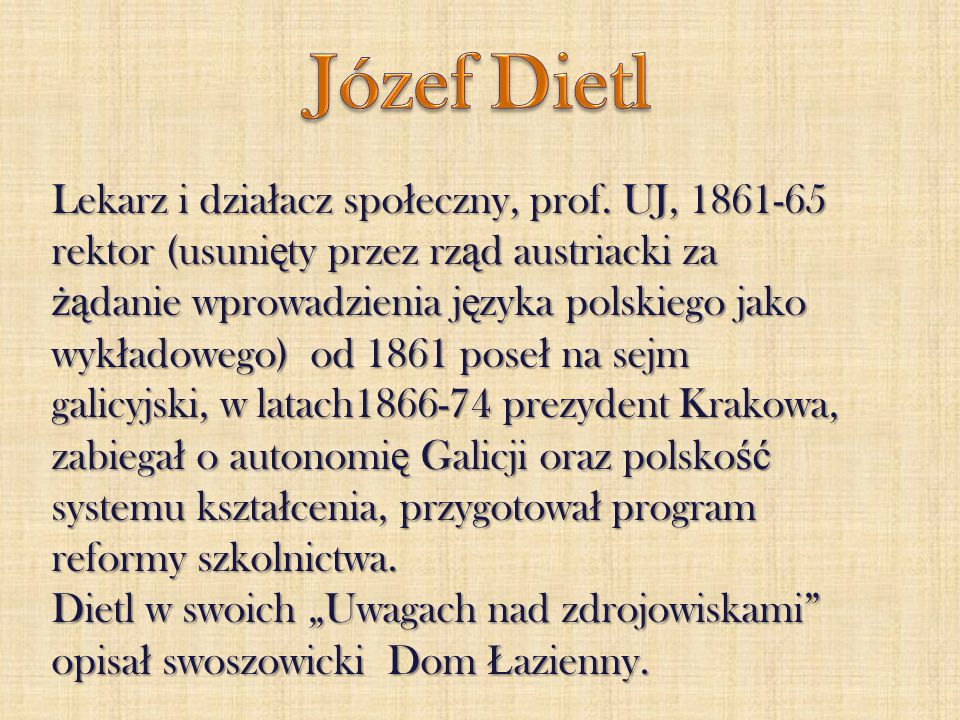 Józef Dietl