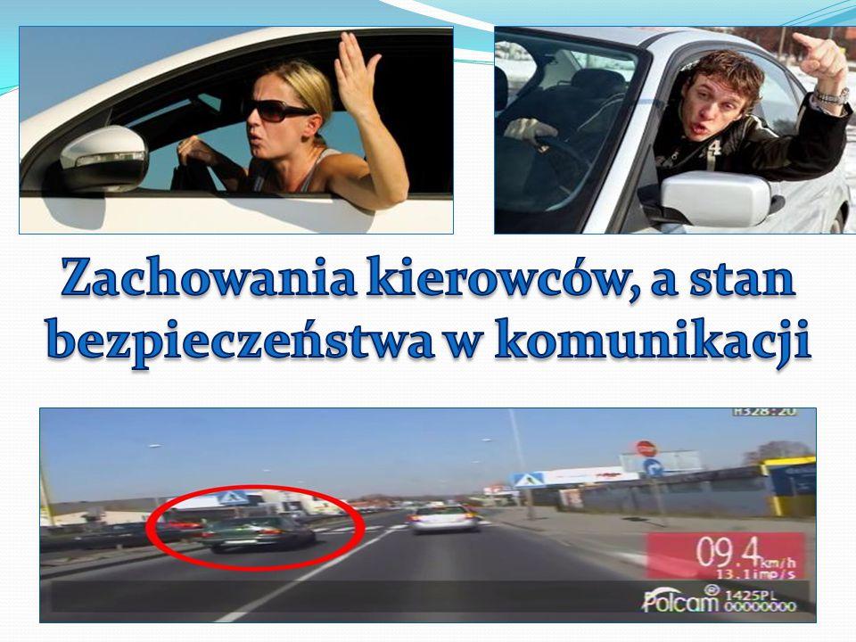 Zachowania kierowców, a stan bezpieczeństwa w komunikacji