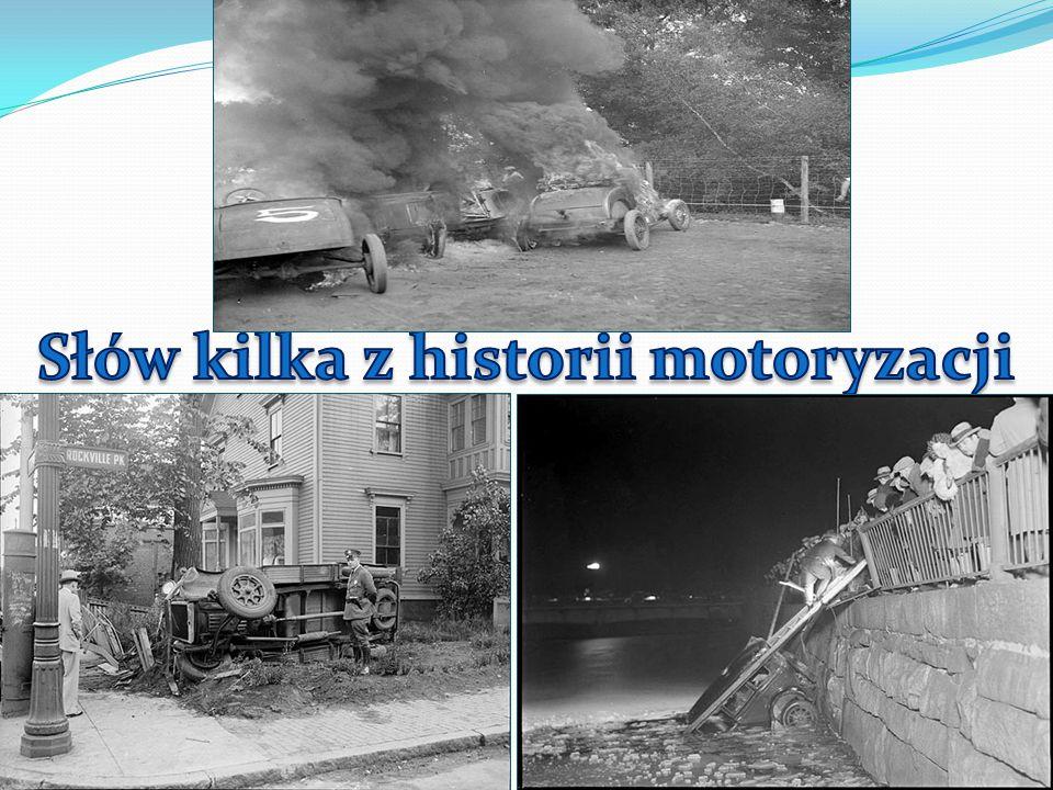 Słów kilka z historii motoryzacji