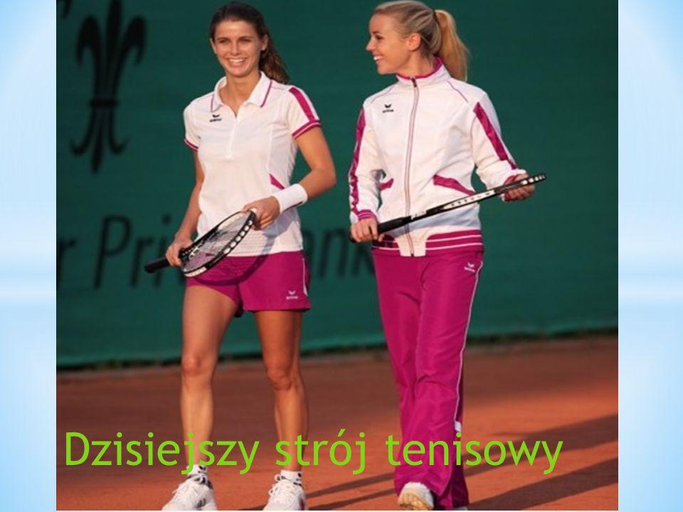 Dzisiejszy strój tenisowy