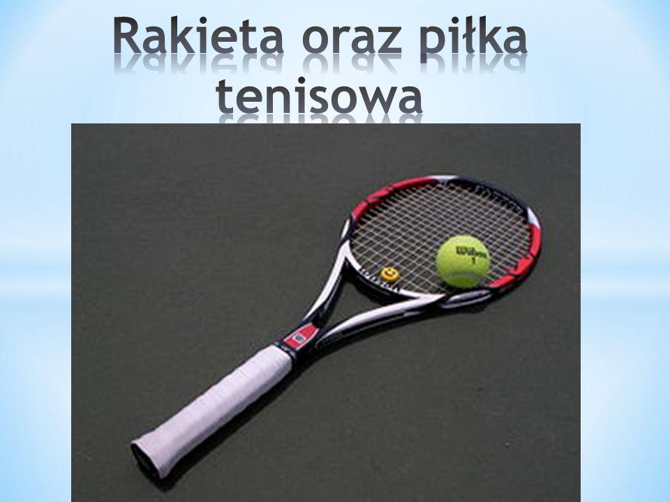 Rakieta oraz piłka tenisowa