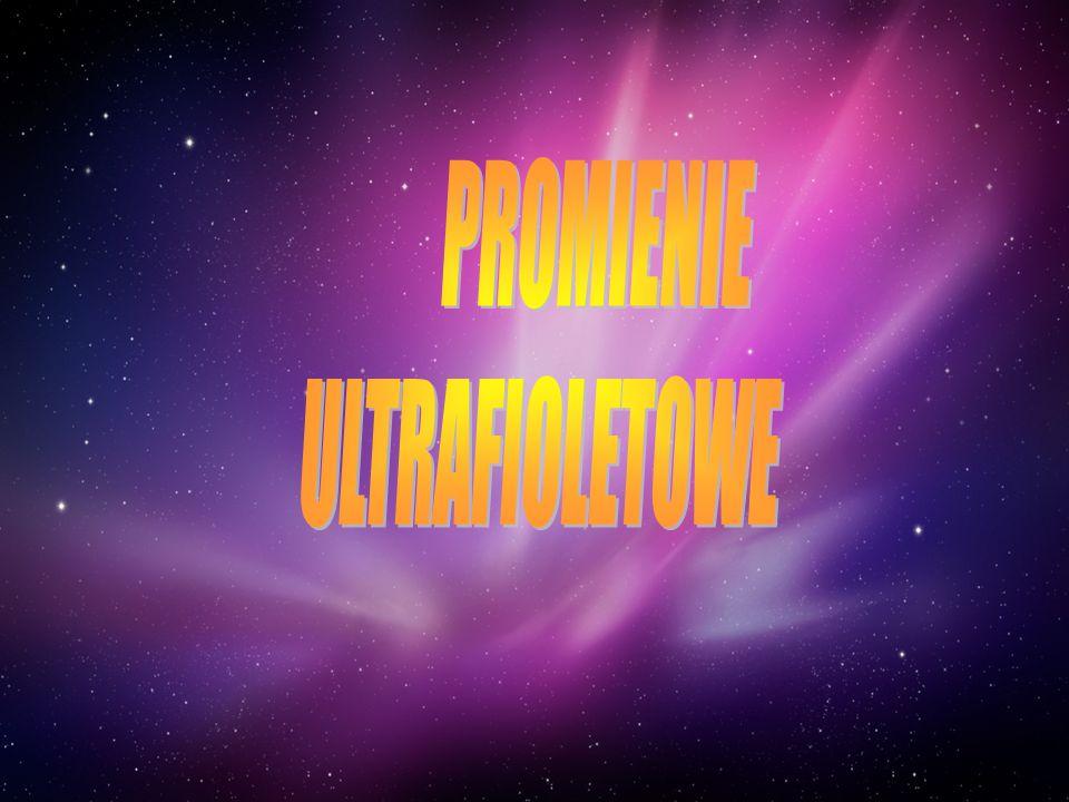 PROMIENIE ULTRAFIOLETOWE
