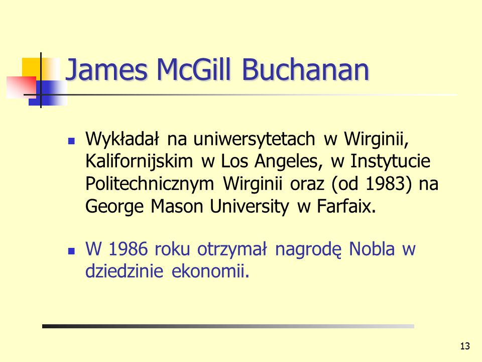 James McGill Buchanan