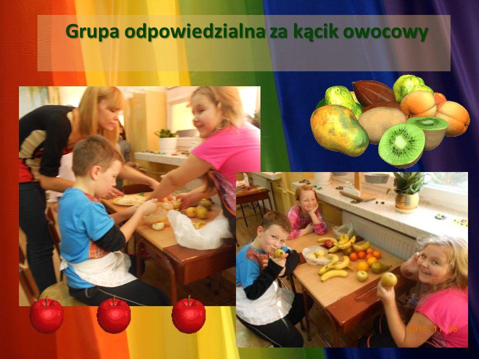 Grupa odpowiedzialna za kącik owocowy