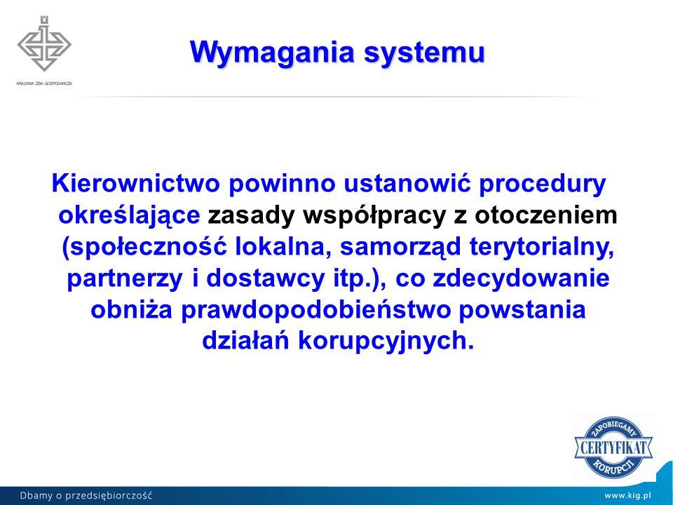Wymagania systemu