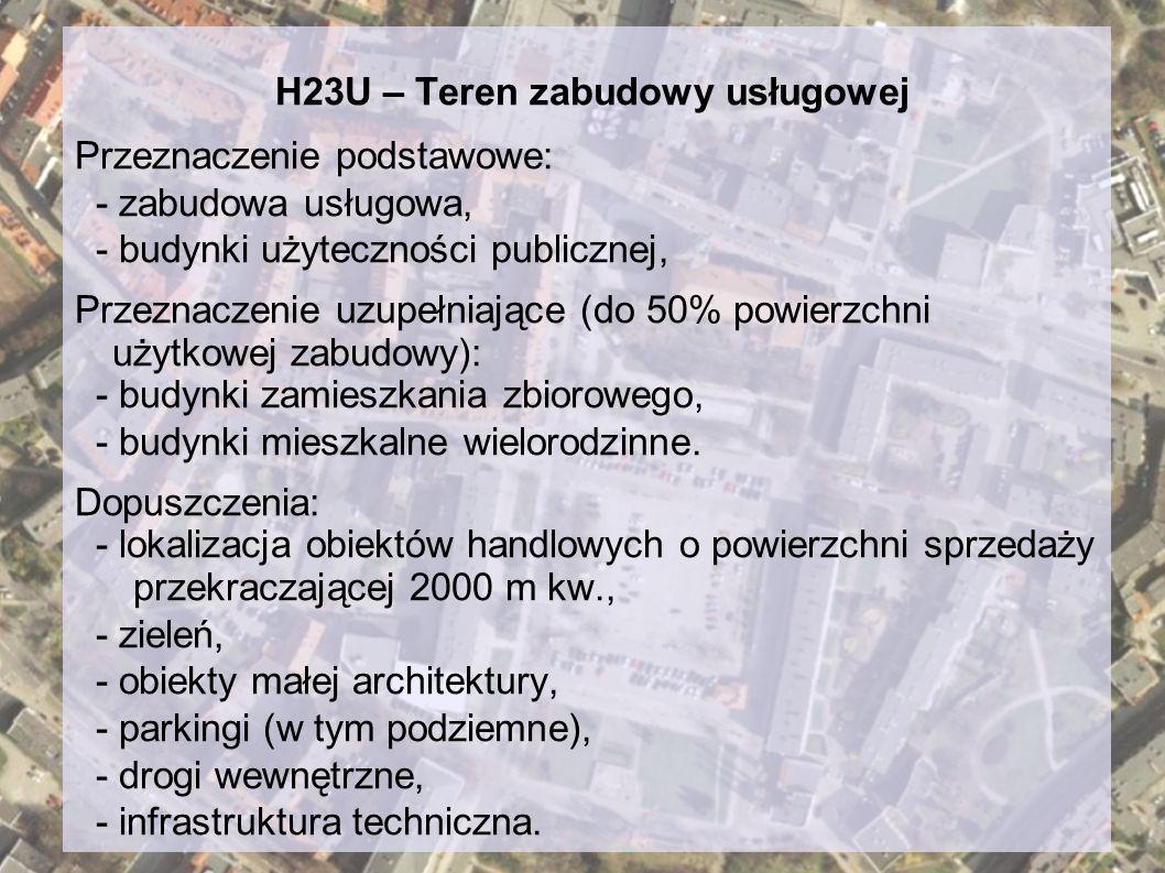 H23U – Teren zabudowy usługowej