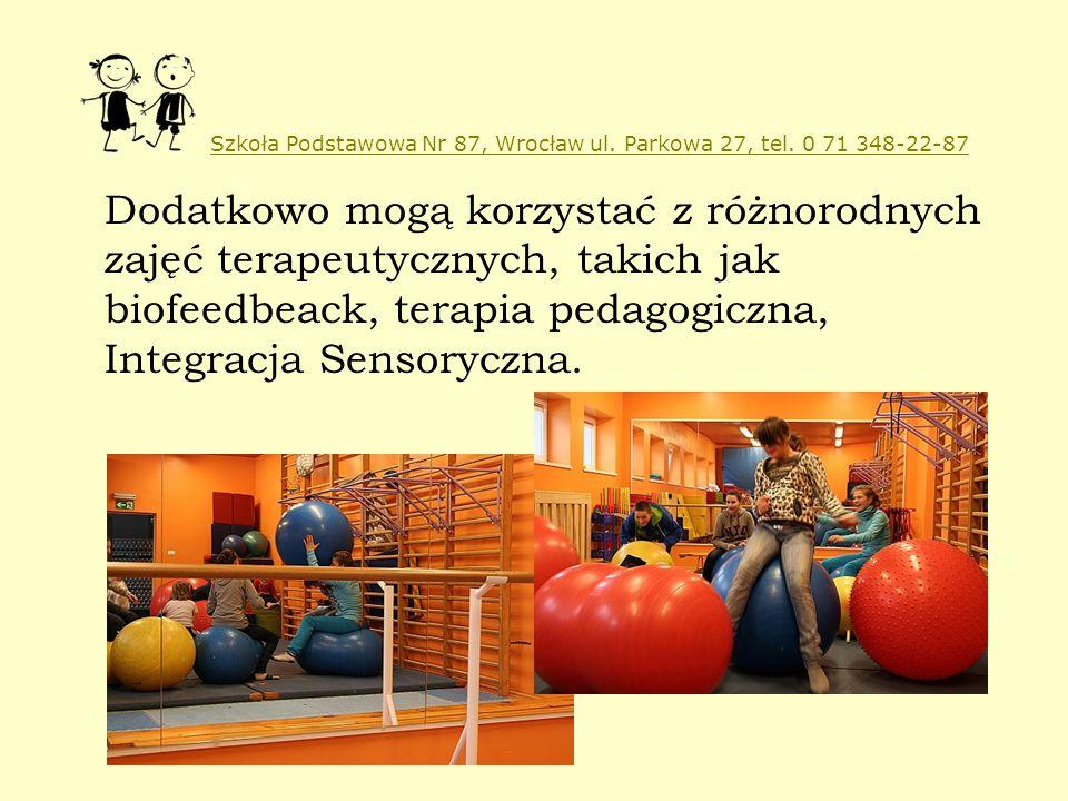 Szkoła Podstawowa Nr 87, Wrocław ul. Parkowa 27, tel. 0 71 348-22-87