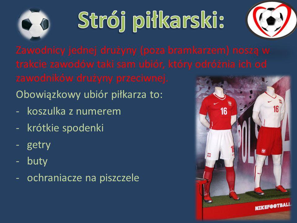 Strój piłkarski: