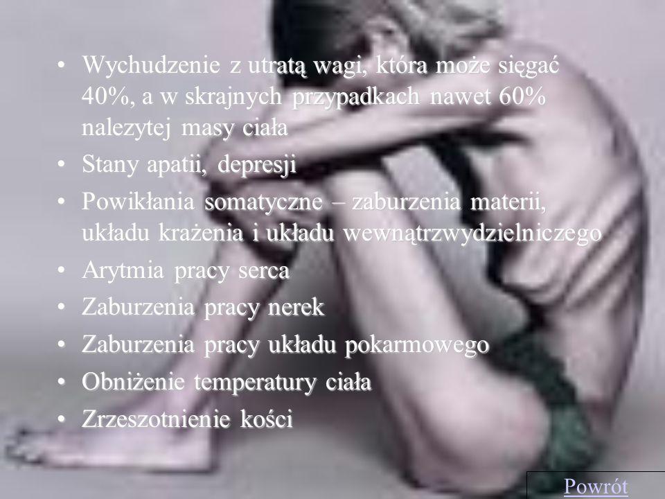 Zaburzenia pracy nerek Zaburzenia pracy układu pokarmowego