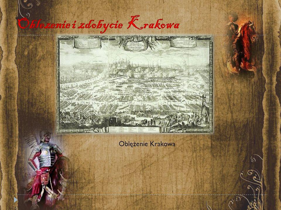 Oblezenie i zdobycie Krakowa