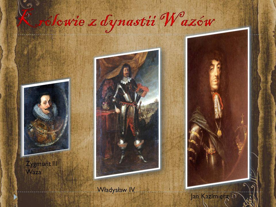 Królowie z dynastii Wazów
