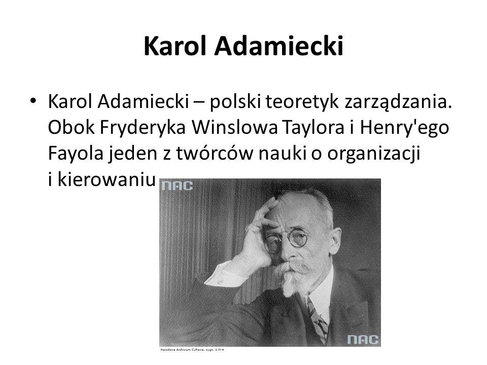 Karol Adamiecki