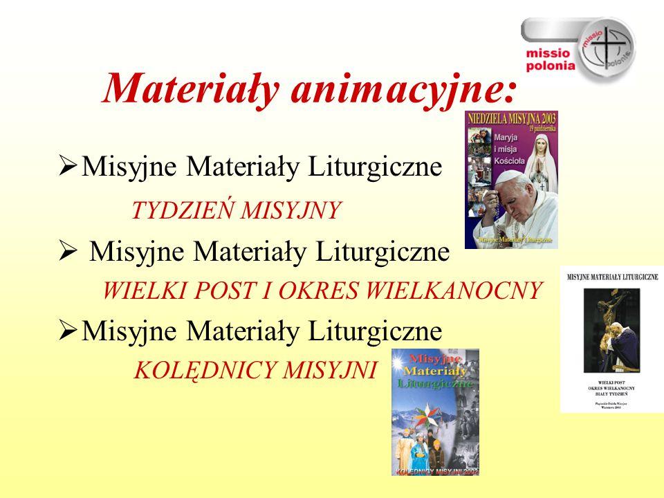 Materiały animacyjne: