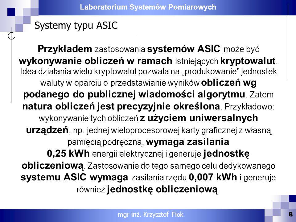 Systemy typu ASIC