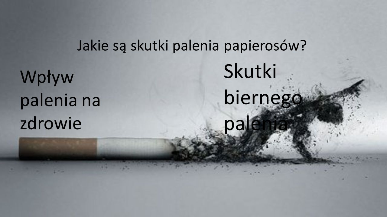 Skutki biernego palenia
