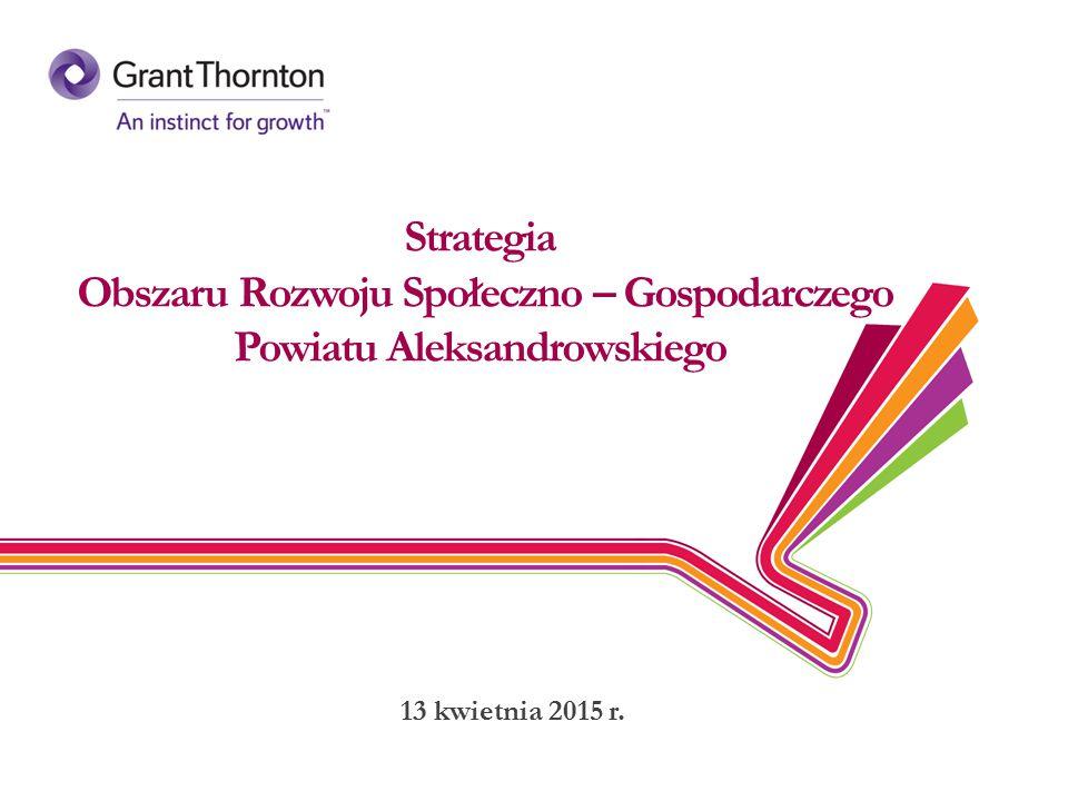 Strategia Obszaru Rozwoju Społeczno – Gospodarczego Powiatu Aleksandrowskiego