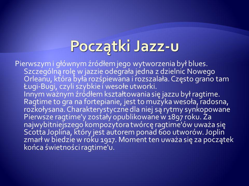 Początki Jazz-u