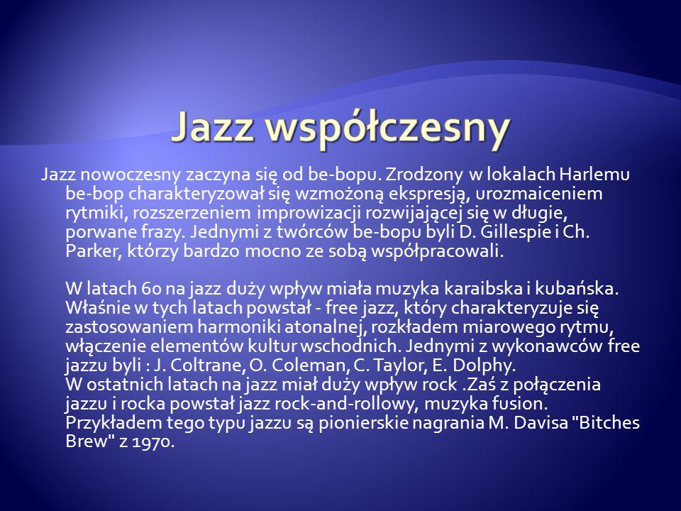 Jazz współczesny