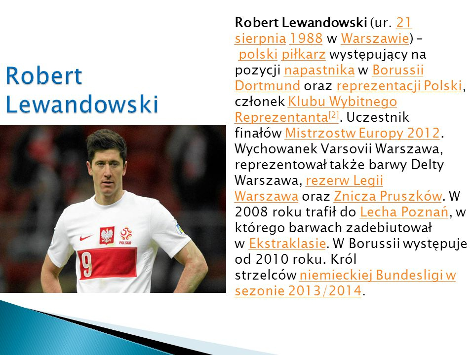 Robert Lewandowski (ur