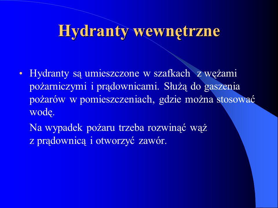 Hydranty wewnętrzne