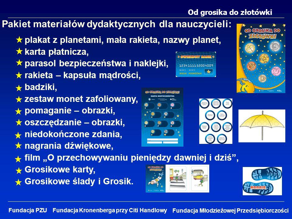 Pakiet materiałów dydaktycznych dla nauczycieli: