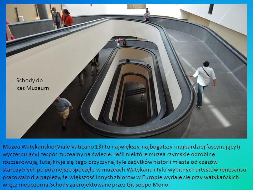Schody do kas Muzeum