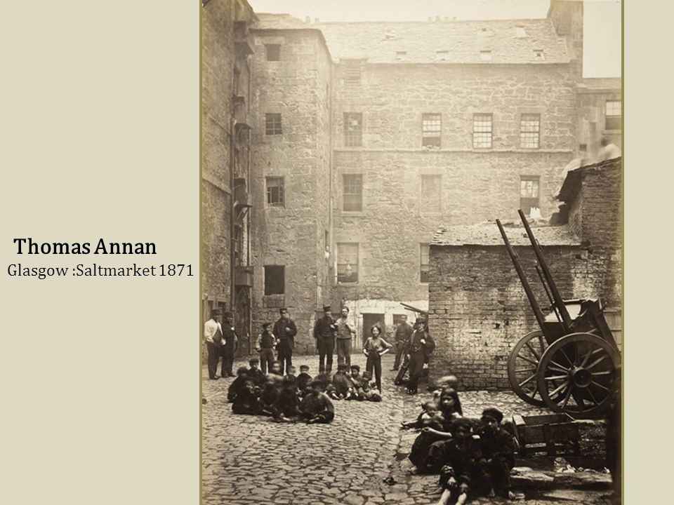Thomas Annan Glasgow :Saltmarket 1871