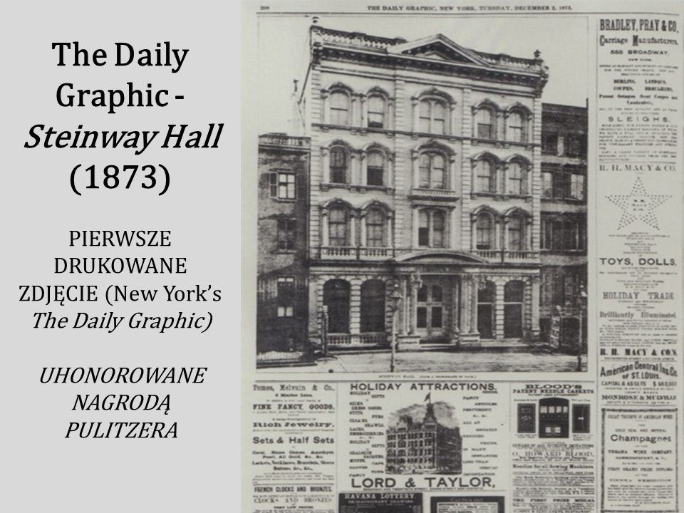 The Daily Graphic - Steinway Hall (1873)