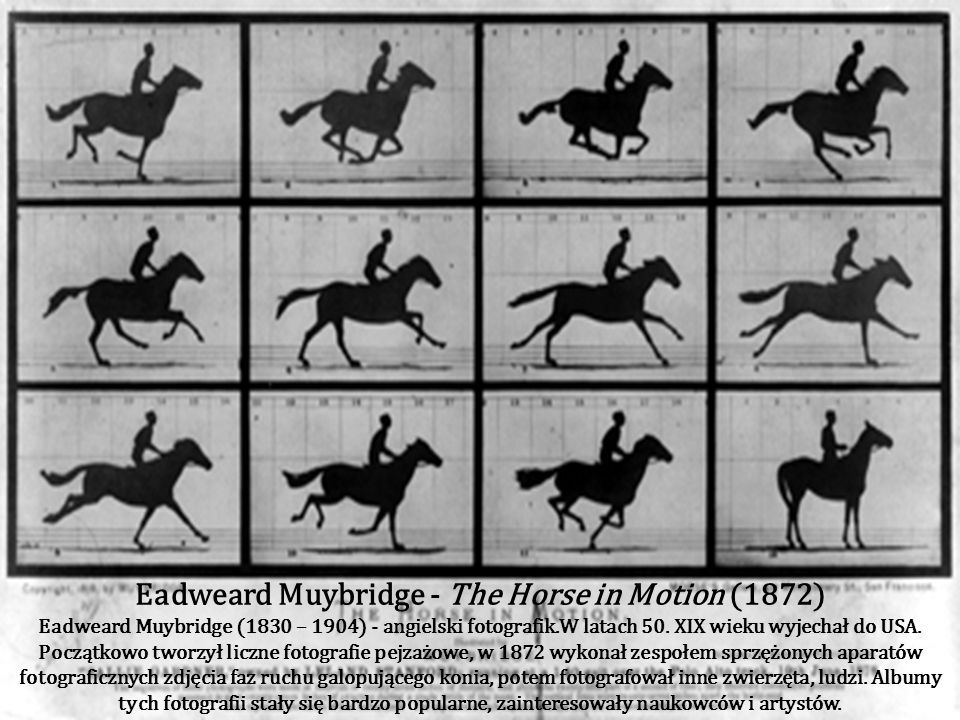 Eadweard Muybridge - The Horse in Motion (1872)