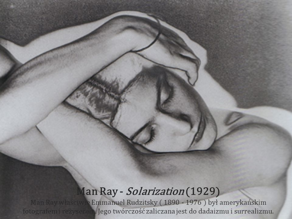 Man Ray - Solarization (1929)