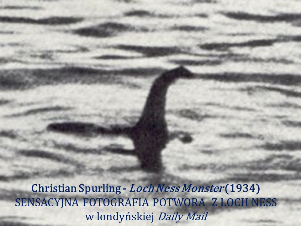 Christian Spurling - Loch Ness Monster (1934)