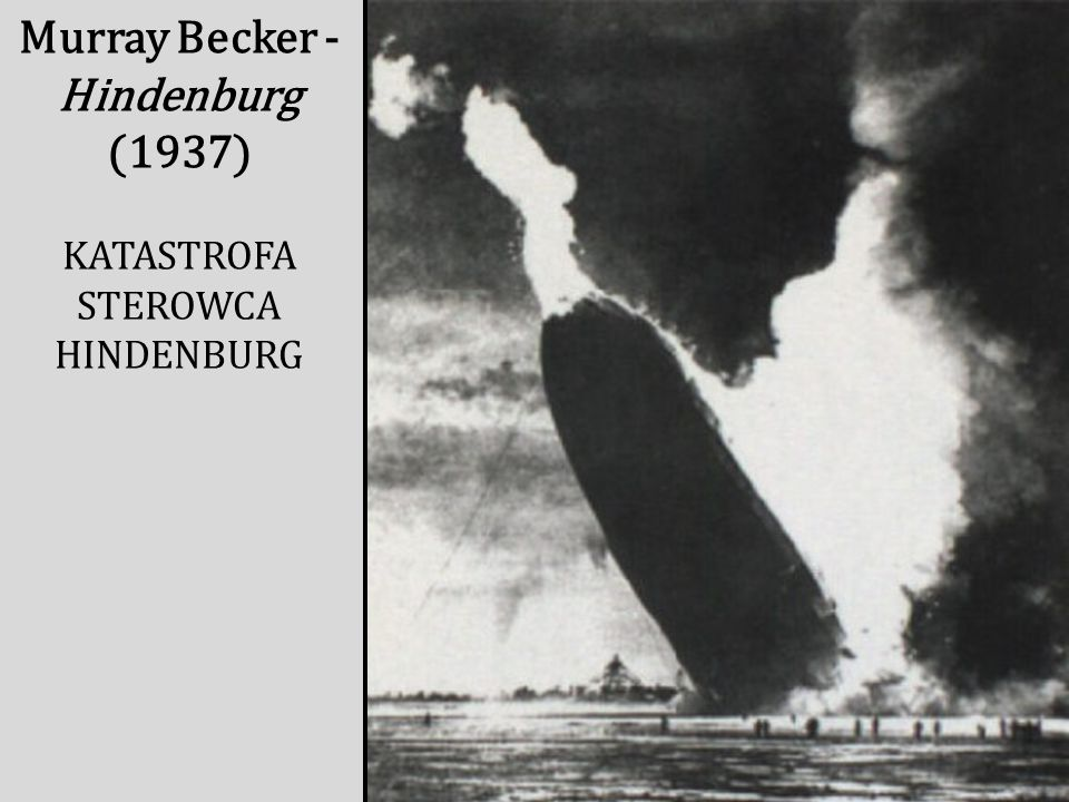 Murray Becker - Hindenburg (1937)