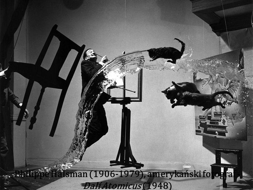 Philippe Halsman (1906-1979), amerykański fotograf - Dalí Atomicus (1948)