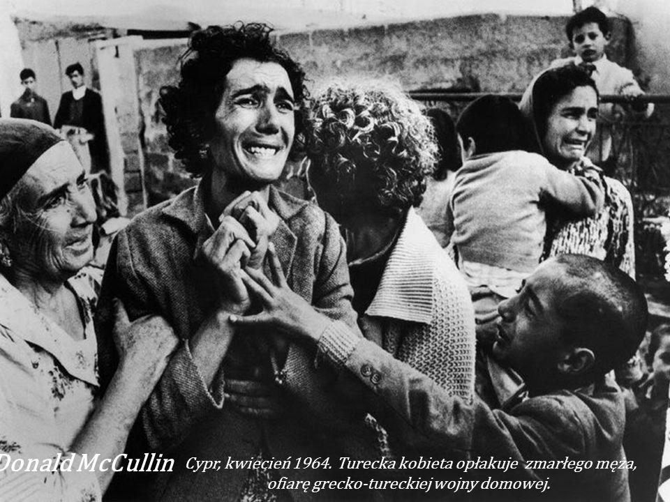 Donald McCullin Cypr, kwiecień 1964.