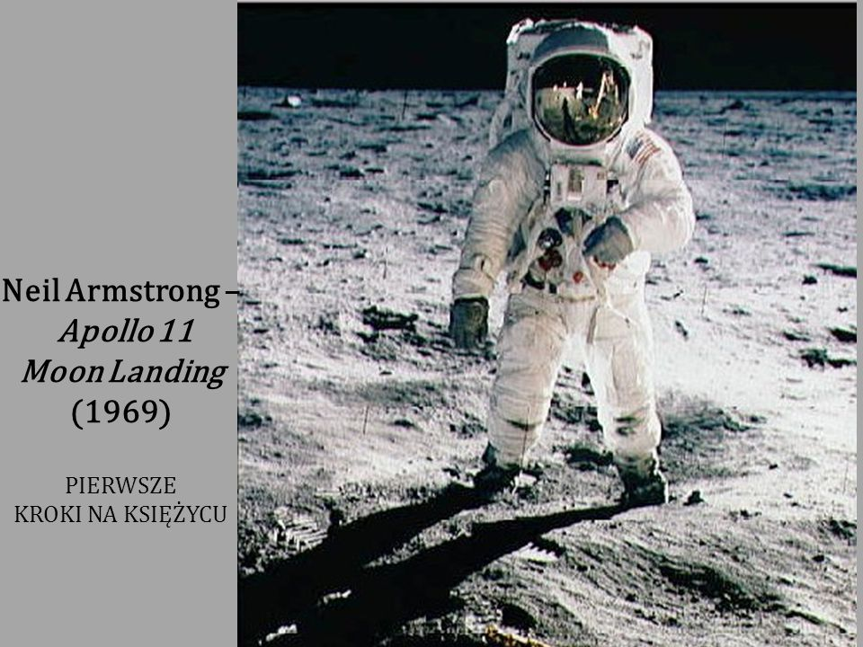 Neil Armstrong – Apollo 11 Moon Landing (1969)