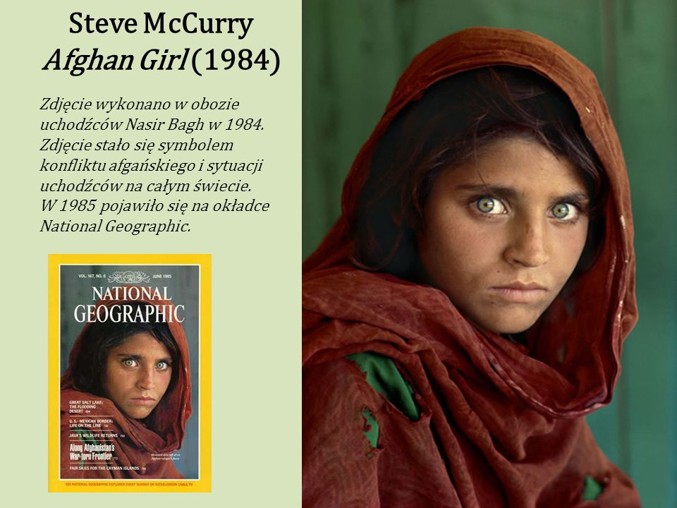 Steve McCurry Afghan Girl (1984)