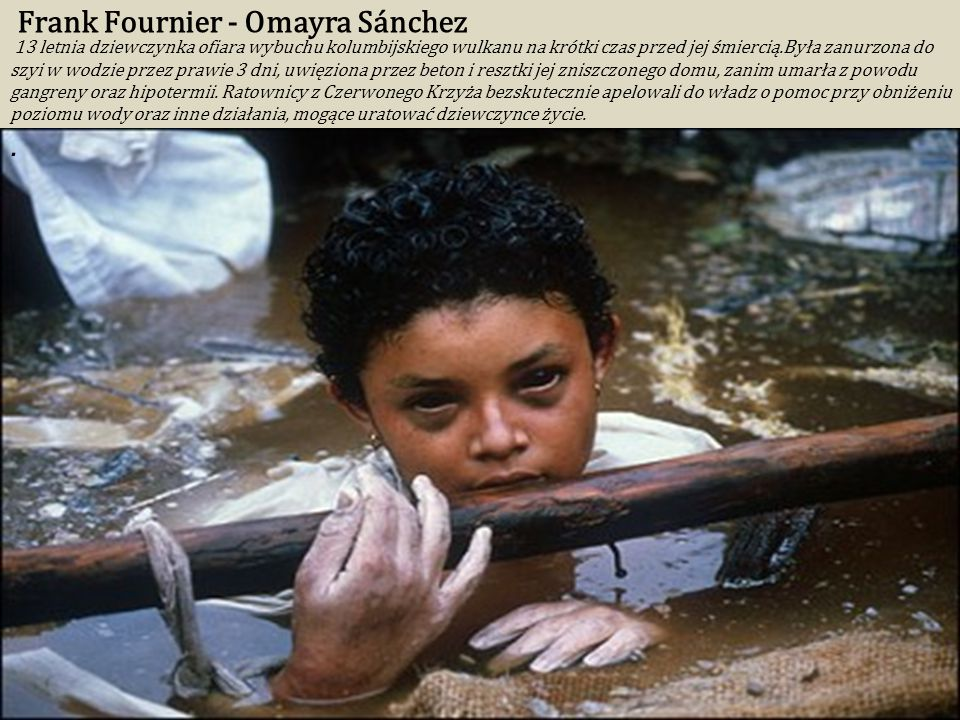 Frank Fournier - Omayra Sánchez
